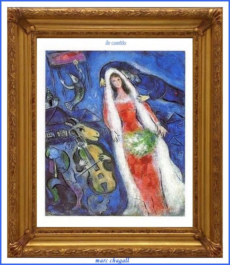 Emejing Marc Chagall La Mariee Gallery - Joshkrajcik.us - joshkrajcik.us